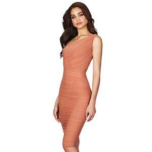Image 3 - Adyce vestido Bandage de noche caqui sin mangas, vestido de noche sexi con un hombro al descubierto para mujer de verano 2020