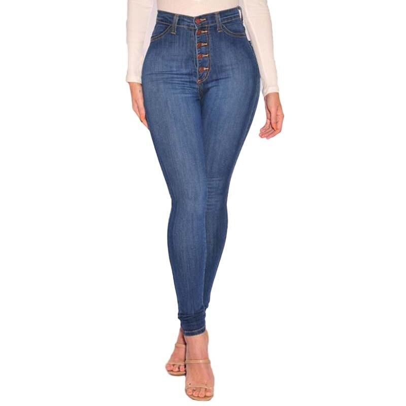 High Waist Women Jeans
