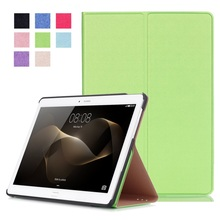 Smart Leather Case Stand Cover for Huawei MediaPad M2 10.0 – Green