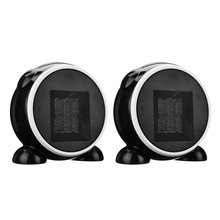 220V /110V Portable Electric Ceramic Space Heater EU US Plug Warm Winter Mini Desktop Fan Heater Home office Applicance