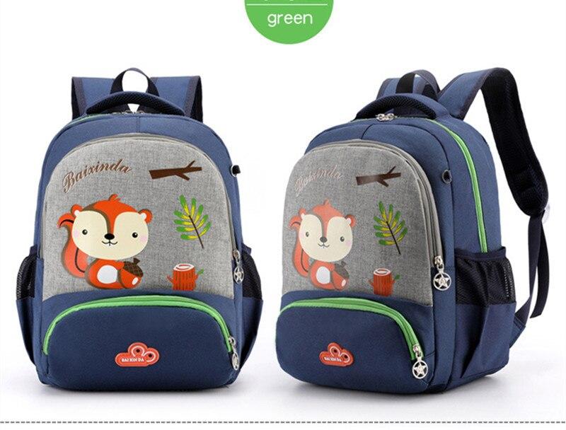 desenhos animados animais mochilas escolares náilon 3d