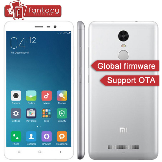 "Original Golbal Version Xiaomi Redmi Note 3 Pro Prime Special Edition Snapdragon650 3G RAM FDD LTE 4G 16MP 5.5"" MIUI Cell Phone"