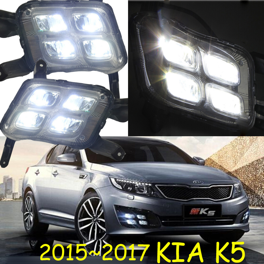 LED,2014~2016 KlA K5 daytime Light,K5 fog light,K5 headlight;soul,spectora,k5,sorento,kx5,Sportage R,K 3 ,Rio,cerato,K 5 hid 2011 2014 car styling kla k5 headlight sportage soul spectora k5 sorento kx5 ceed k5 head lamp cerato k5 head light
