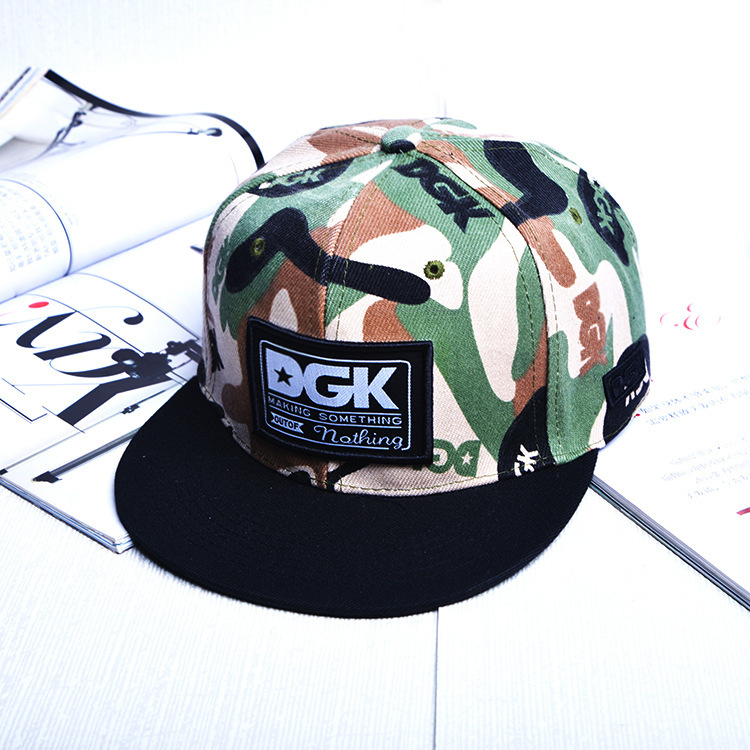 95dca577a A Hip hop Cap chance The rapper Cloth Paste Camouflage Male Ma'am ...