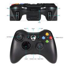 Premium Quality Fine Black 2.4GHz Wireless Gamepad Joypad Controller Game Joystick Pad for Xbox 360 Game