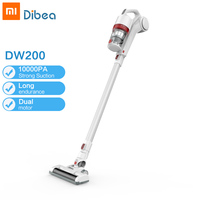 Dibea DW200 Handheld Wireless Vacuum Cleaner Portable Cordless Strong Suction aspirador Home Carpet cyclone Dust Collector