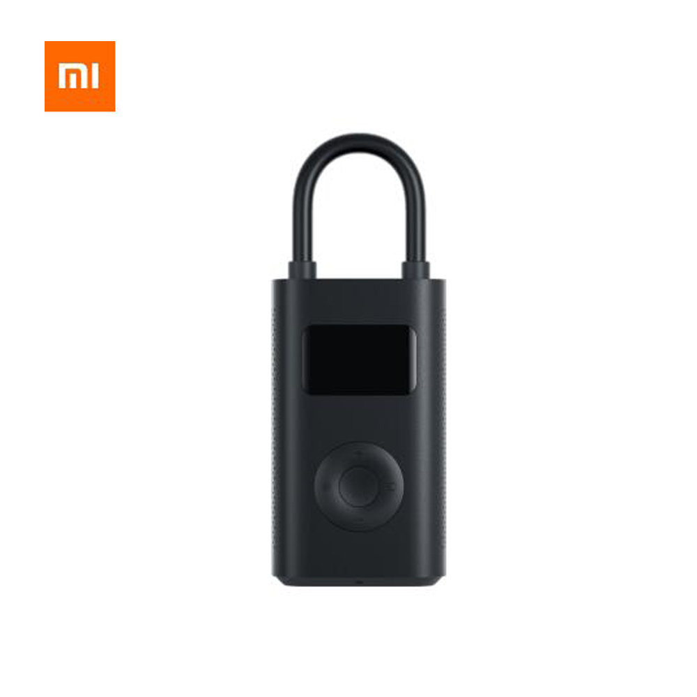 D'origine Xiaomi Mijia En Plein Air Gonflable Trésor Numérique Surveillance Pression Préréglée Intégré Batterie Multi-buse Puissant