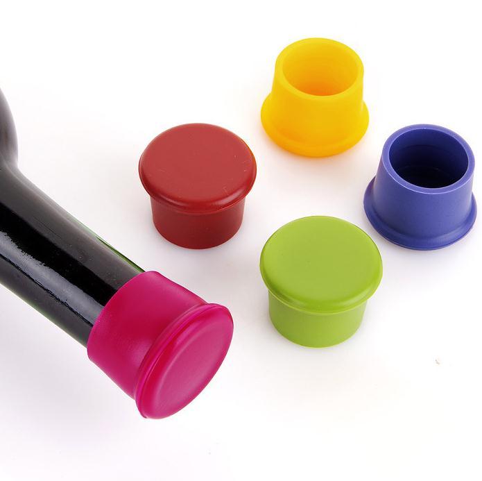 2000 pcs silicone rolhas de vinho para