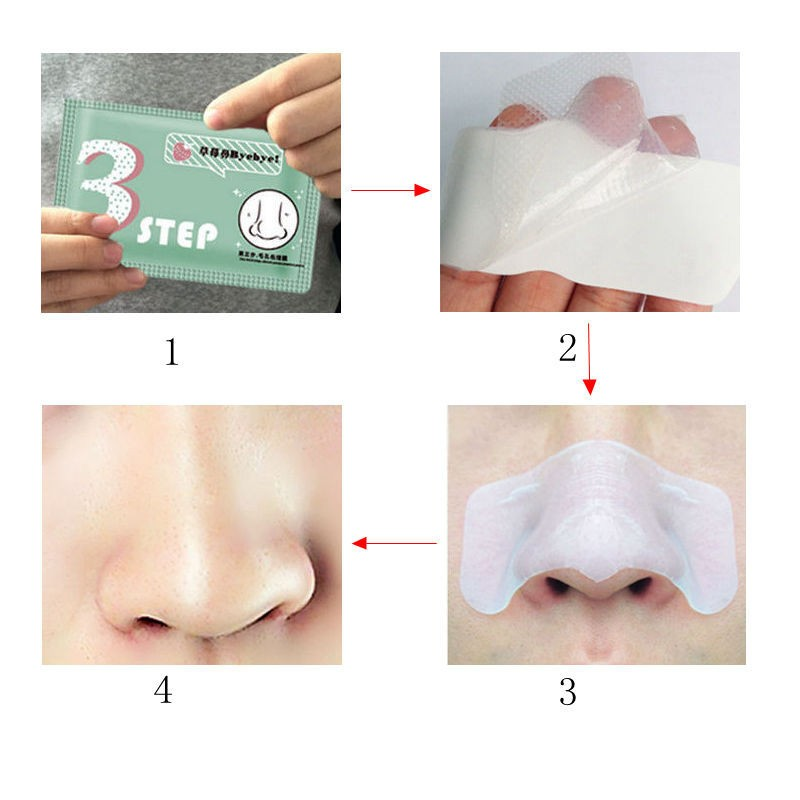 10- Pcs/Lot Pig Nose Mask Remove Blackhead Acne Remover Clear Black Head 3 Step Kit Beauty Clean Cosmetic Accessory Face Care 19