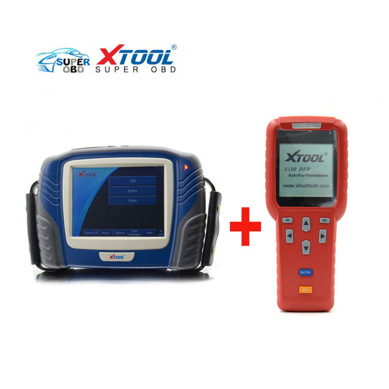 HOT Original Xtool PS2  Heavy Duty Scanner Update Via Internet XTOOL PS 2 Truck Diagnostic Tool +Original Xtool X100 pro as gift