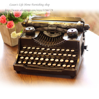 NEW Retro fashion Nostalgia Iron typewriter ornaments,rustic style handmade Iron crafts,Home Furnishing Typewriter decoration