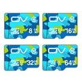 OV Memory SD Card Class 10 16GB 32GB 64GB 128GB MicroSD MicroSDHC MicroSDXC Memory Card class 10 UHS-1 TF Memory Card 8GB Class6