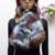 Nueva llegada del invierno de imitación de piel de mapache bufanda de piel de zorro falso bufanda silenciador mujeres cuello de piel sintética remiendo colorido ecológico
