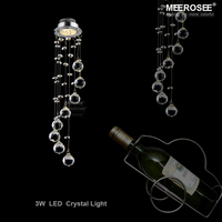 Modern Crystal Ceiling Light Fixture Spiral Crystal Lamp Crystal Lustre Light Fitting LED Lamp For Aisle