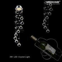 Mini Modern Crystal Ceiling Light Fixture Spiral Crystal Lamp Crystal lustre Light fitting LED for Aisle Hallway Porch Staircase