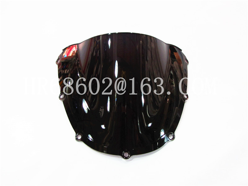 For Honda CBR 900 RR 954 2002 2003 Black Windshield WindScreen Double Bubble CBR954 CBR900 CBR900RR CBR954RR Cbr900 Cbr Rr R
