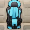 Tamanho grande 3-12Y Bebê Portátil Assento de Segurança Do Assento de Carro das Crianças cadeiras na Versão Atualizada Do Carro Espessamento Algodão Caçoa o Carro assentos