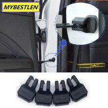 4 шт. автомобильный Стайлинг автомобиля ограничитель двери крышки чехол для Mitsubishi ASX Outlander Pajero автомобильные аксессуары