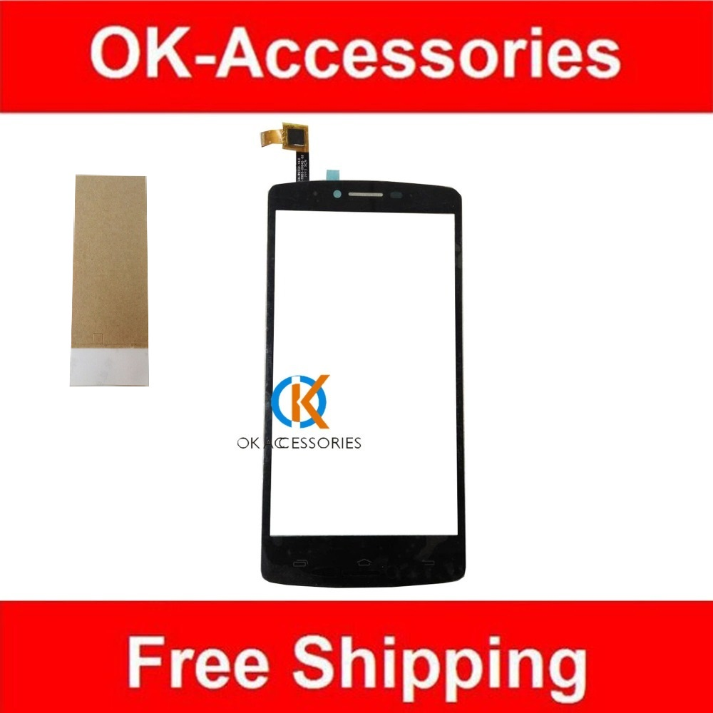 Black Color For Prestigio PAP 5550 PAP5550 Touch Screen Digitizer With Adhesive Tape 1PC/Lot