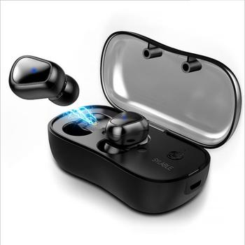 2019 New D900P Bluetooth V5.0 TWS Earphone True Wireless Stereo Earbud Waterproof SYLLABLE Bluetooth Headset for Phone