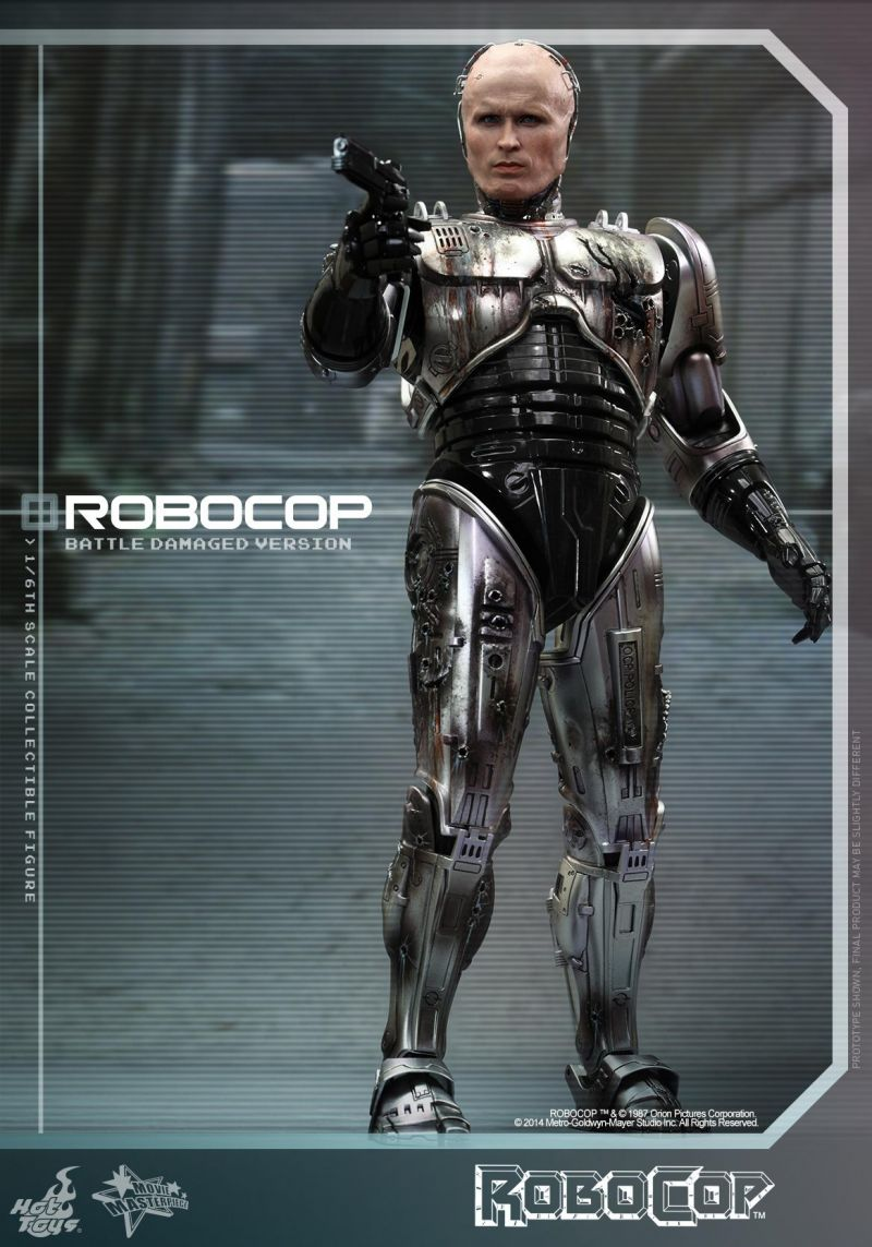Hot Toys MMS265 RoboCop: 1/6th scale RoboCop (Battle Damaged Version) Collectible Figure Specification cd сборник robocop