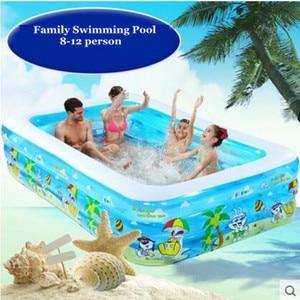 Image 2 - 2021 תינוק & ילדים מתנפח גדולה בריכת שחיה משפחה בריכות שחייה אוקיינוס כדור בריכה למבוגרים אמבטיה מעובה