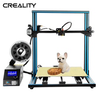 Creality 3D CR 10S FDM 3D Printer kit Pre assembly Large Print Size 300*300*300MM With Filament Detection Resume Print Power Off