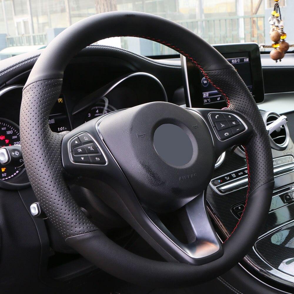 Image 2 - Steering wheel cover for Skoda Octavia 2017 Fabia 2016 2017 Rapid Spaceback 2016 Superb (3 Spoke)/ Skoda Octavia 2015 Rapid Yeti-in Steering Covers from Automobiles & Motorcycles