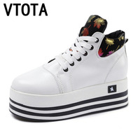 VTOTA Women Sneakers Autumn Tenis Feminino Shoes Woman Platform Canvas Shoes Height Increased Shoes Zapatos