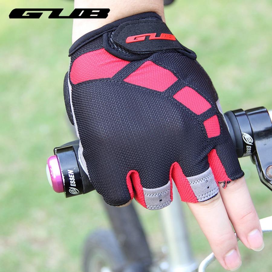 נשימה נגד כפפות אופניים כפפות ג'ל ריפוד אופניים אופנוע כפפות ספורט חצי אצבע כפפות Mtb אופניים ציוד גודל S-XL