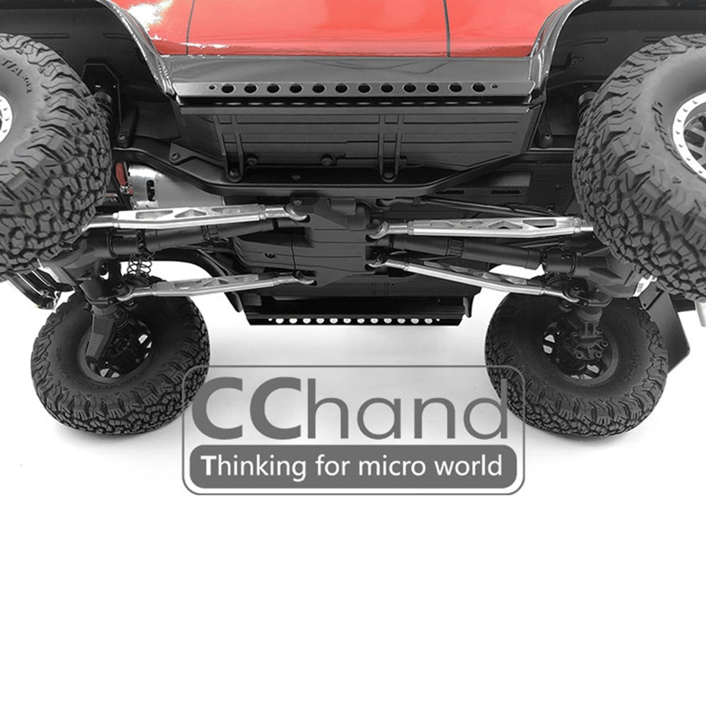 XBERSTAR CChand ally axle Front Rear link kit for Rock Crawler Traxxas TRX-4 TRX4 Ford BRONCO RC Car Parts