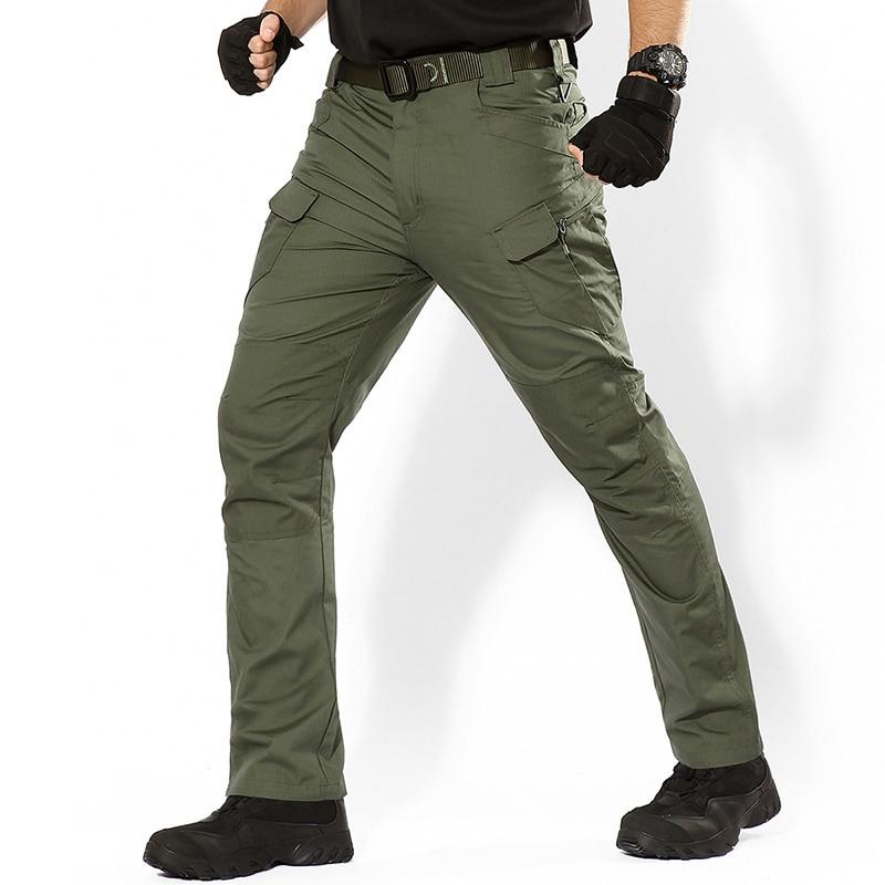 IX9 IX7 Hiking Pants Men Plus Size Outdoor Sports Camping Trekking Cargo Combat Waterproof Trousers Women Military Tactical Pant