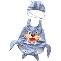 db08ad7786f36 Baby Swimsuit Boys 0 3 Year One Piece 3D Animal Toddler Swimwear Baby Girls  Bodysuit Swimming