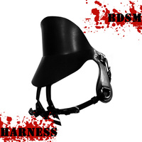 Real Cowskin Leather BDSM Saddle Harness Horseriding Saddle Slavery Fetish Tool Porn Restraints Sex Actress Leather Adult Toys