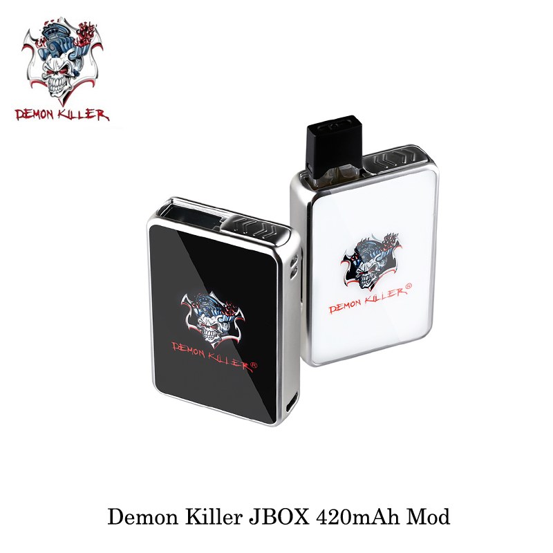 electronic cigarettes Demon Killer JBOX 420mAh Mod JBOX Pod Cartridge Ceramic Coil Best Flavor PCTG Vape Vaporizer For JULL Ecigelectronic cigarettes Demon Killer JBOX 420mAh Mod JBOX Pod Cartridge Ceramic Coil Best Flavor PCTG Vape Vaporizer For JULL Ecig