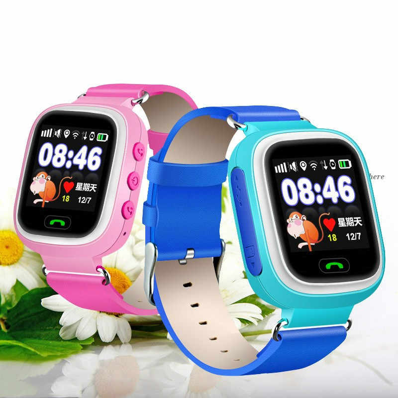 GPS Q90 Watch Touch Screen WIFI Positioning Smart Watch Children Tracker SOS Call Location Finder Device Anti Lost Reminder