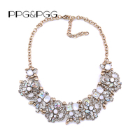 2016 NEW Z Style Fashion CHOKER NECKLACE Vintage Unique Collar Pendants Statement Jewelry For Women Crystal