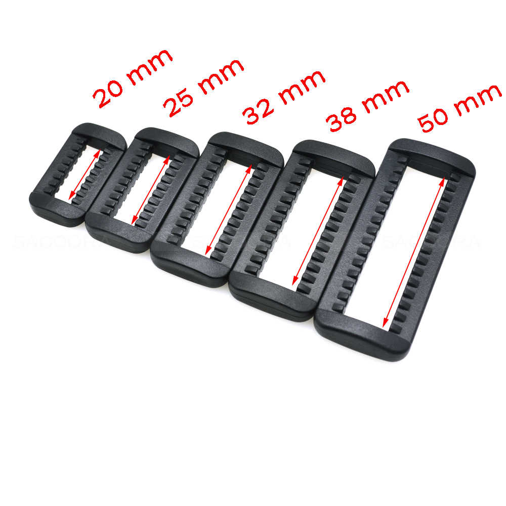 "3/4"" 1"" 1-1/4"" 1-1/2"" 2"" Loops Looploc Side Release Buckles Plastic Rectangle Rings Backpack Strap Bag Parts Accessories"