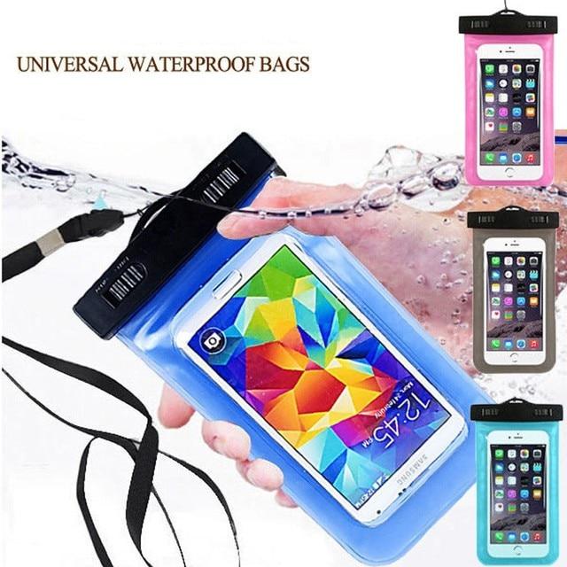 PVC Waterproof Diving Bag For Mobile Phones Underwater Pouch Case For Asus Zenfone 2 Laser ZE550KL 3 4 5 GO Selfie Go