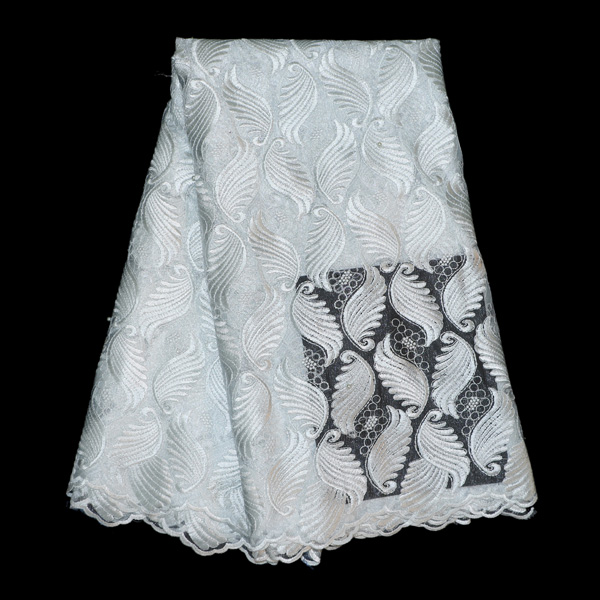 Eyelet white swiss voile african tulle lace fabric for for French lace fabric for wedding dresses