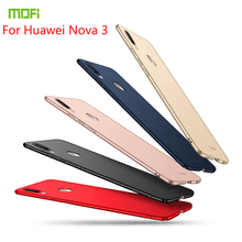 For Huawei nova 3 Case Cover MOFI Fitted Cases PC Hard High Quality Ultra thin