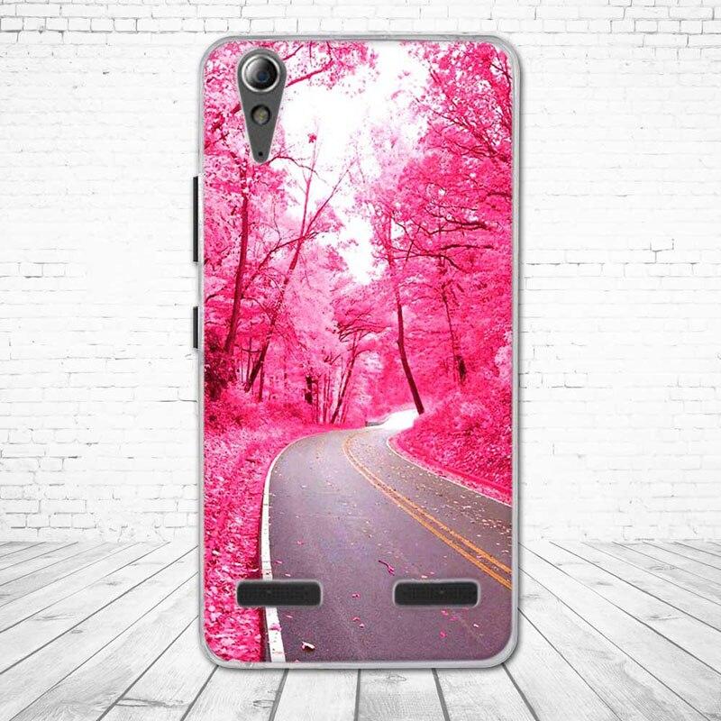 """Miękkiego silikonu case wydrukowano phone tylna pokrywa dla lenovo a6010 & a6000 & dla lenovo lemon k3 k30-t skóry pokrywa 5 """"K 3 A 6000 6010 23"""
