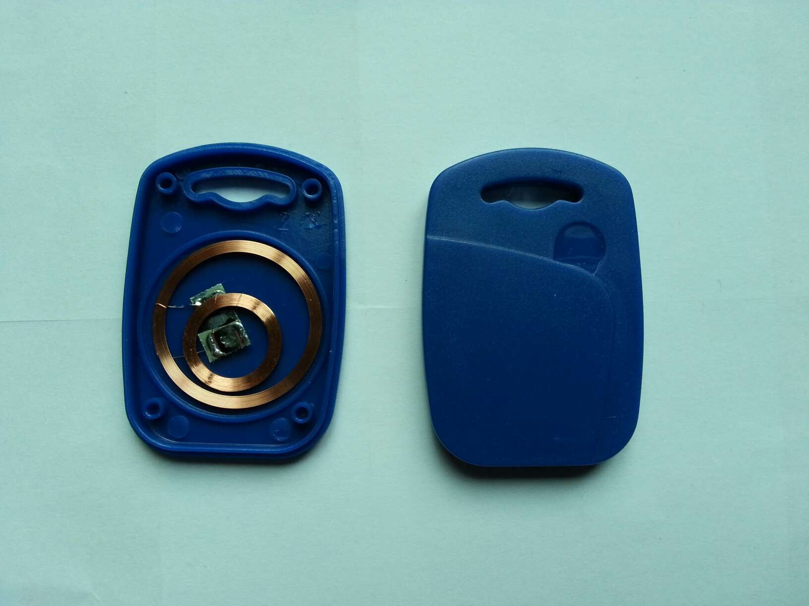 IC+ID UID Writable Composite Key Tags Keyfob 125KHZ T5577 RFID+13.56MHZ UID 1K Changeable NFC 50pcs lot uid changeable nfc ic tag rfid keyfob token 1k s50 13 56mhz writable iso14443a