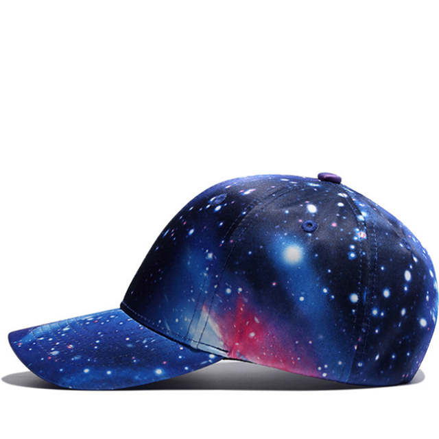 75c6f45cd08 Online Shop New 3D Print Galaxy Unisex Baseball Cap Men Snapback Hats  Holiday Leisure gorras de beisbol Hip hop Cap Women Sports Sun hat