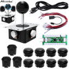 Miroad 3D PC Game Joystick DIY Kits Zero Delay Arcade 3D Game Handle And USB Encoder