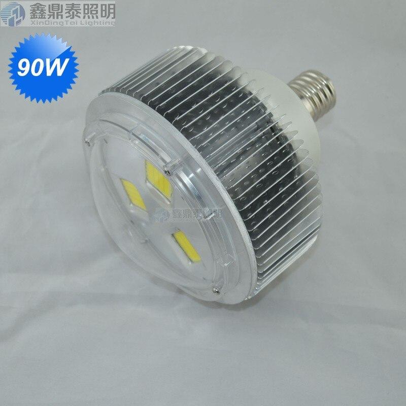 10 pcs/lot 90 W LED haute baie ampoule E40 LED ampoule éclairage 90 W E40 LED Lumière Industrielle blanc froid/chaud blanc Livraison gratuite