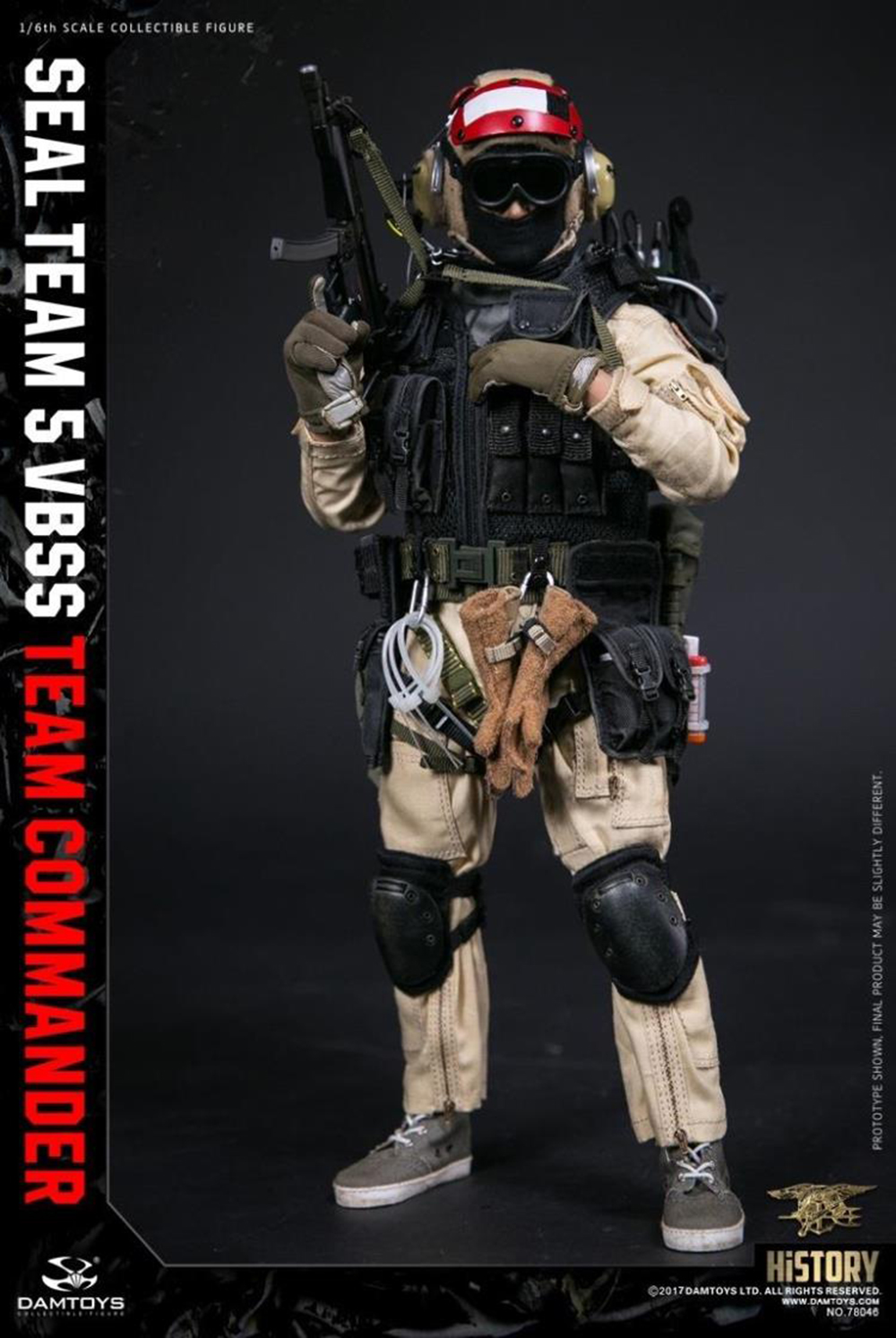 For Collection 78046 78045 1/6 Full Set Camouflage Solider HISTORY SERIES US SEAL TEAM 5 VBSS TEAM LEADER Male Action Figure image