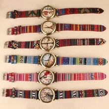 New! Scorching 2015 New Girls's Nationwide Fake Leather-based Denim Strap Band Analog Quartz Chracteristic Wrist Watch 5L1L