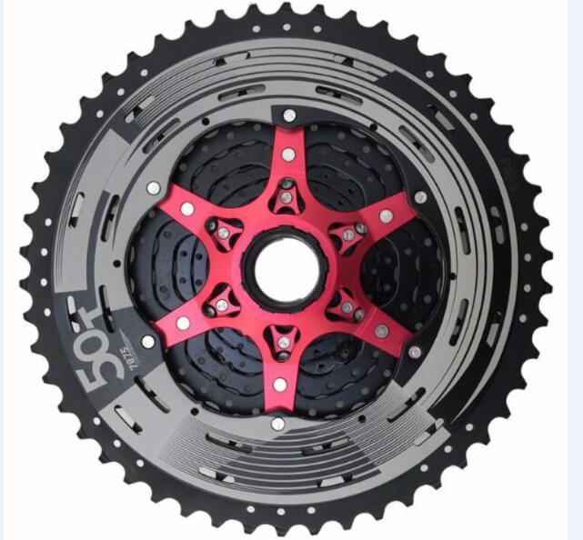 SunRace CSMX80 11-50 T 11 vitesses vtt vélo Cassette roue libre large rapport vélo roue libre Cassette