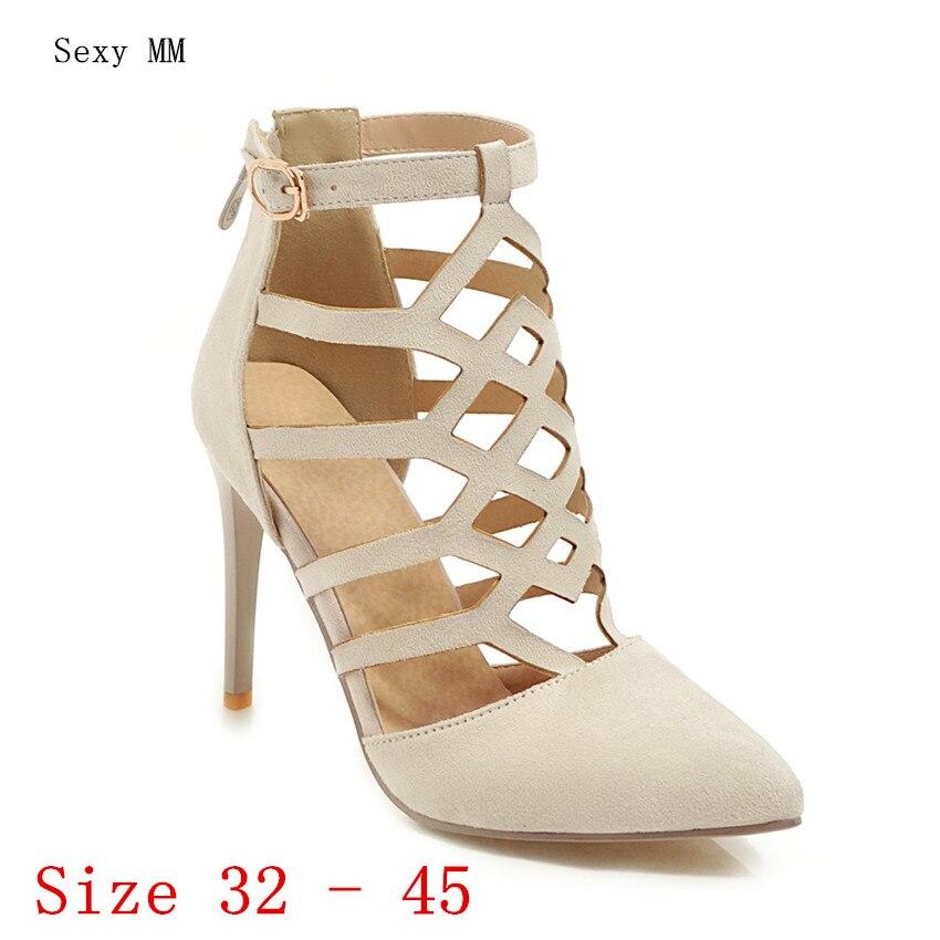 Где купить Женские летние туфли-лодочки на высоком каблуке, туфли на высоком каблуке, женские свадебные туфли на шпильках, маленькие и большие размеры 32, 33-40, 41, 42, 43, 44, 45, 46
